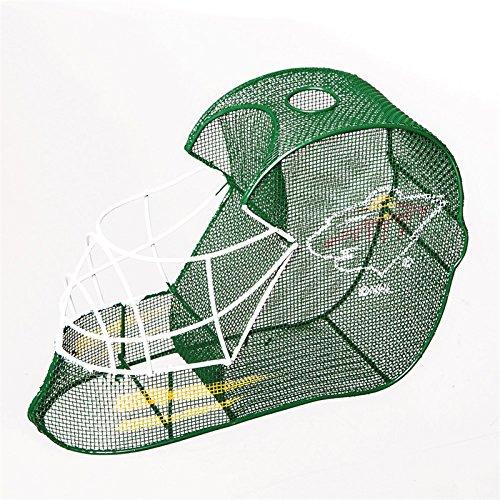 Minnesota Wild Goalie Helmet Bottle and Cork Cage Holder