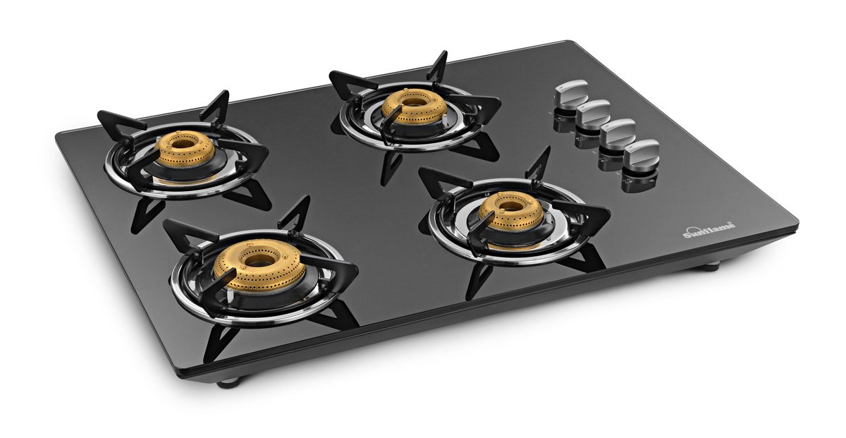 Sunflame CT Hob 4 burners gas hob