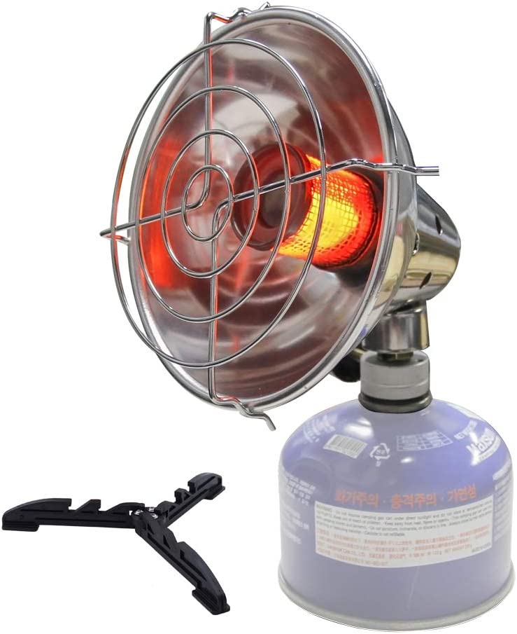 Portable Gas Heater Outdoor Warmer Propane Butane Tent Heater Camping Stove Cooker