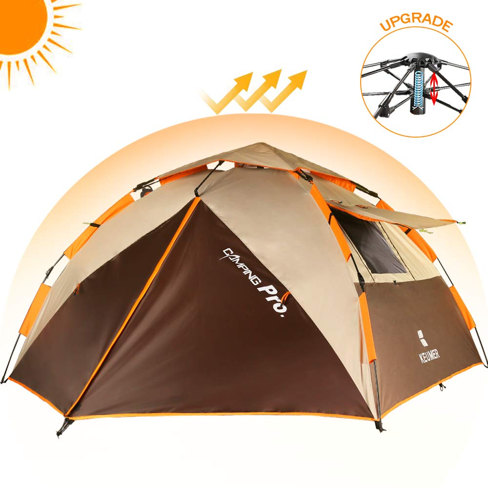 ZOMAKE Instant Tents for Camping 2 3 4 Person - Waterproof Dome ...
