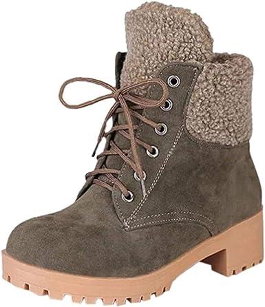 Booties Low Heel Work Combat Boots