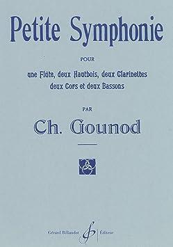 グノー : 小交響曲 変ロ長調 スコア (木管アンサンブル) ビヨドー出版