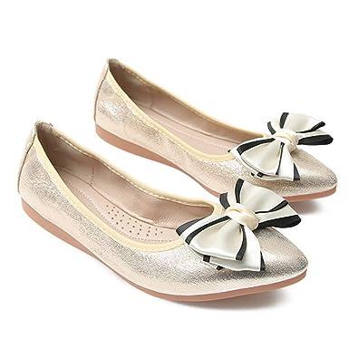 buy online fa0a1 fb590 Frauen Ballerinas Sommer gehende Freizeitschuhe die Büro ...