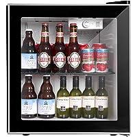 Northair Beverage Cooler and Fridge With Glass Reversible Door, 60 Can Beverage Mini Fridge, Adjustable Shelves…