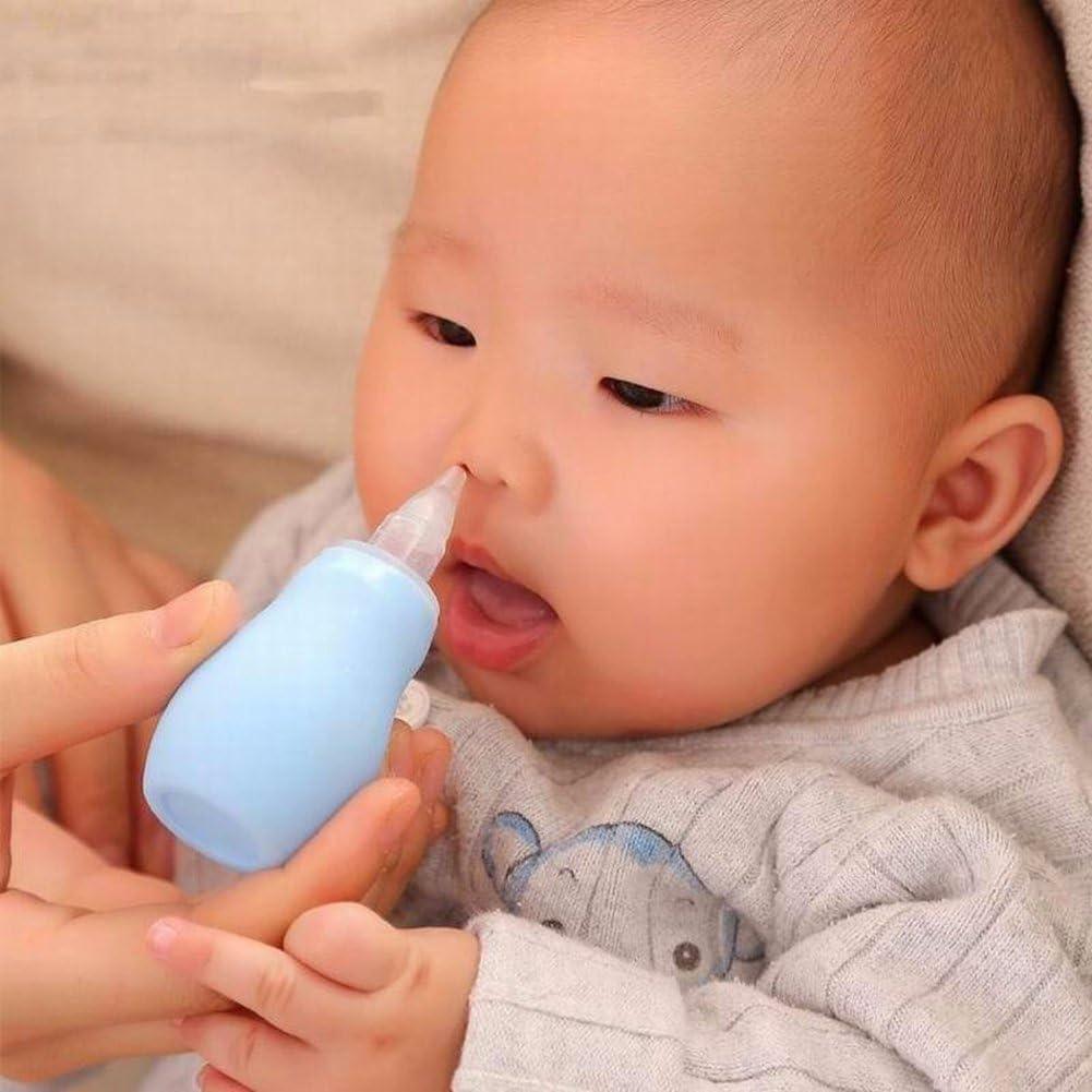 Rotzsauger Schleimentferner f/ür Kinder Kleinkinder tragbares Baby Kleinkind Baby Nasensauger Nasenschleimreiniger Rotzsaugerpumpe Alicer Baby Nasensauger