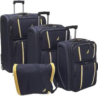 Amazon.com | Starboard 4 Piece Luggage Set Color: Navy