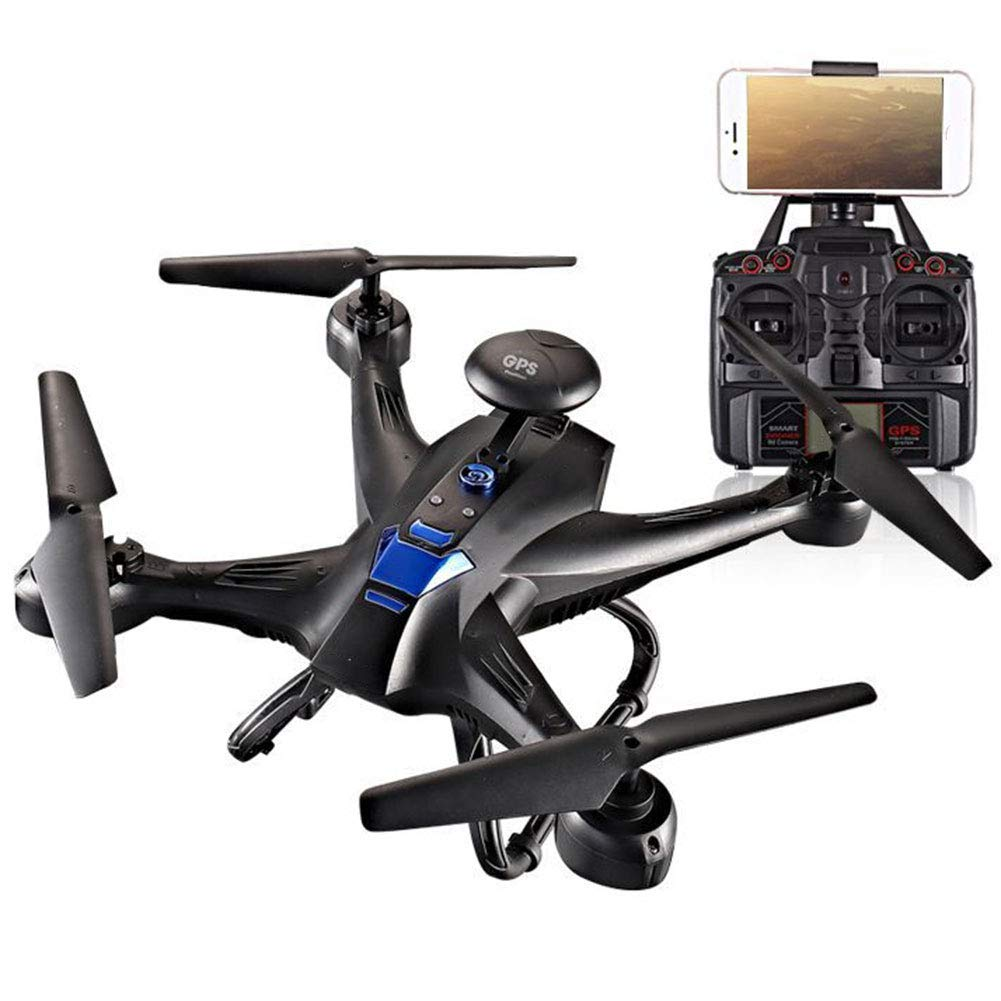 LWRJQC Drone Plegable App WiFi para iOS/Android Camara HD ...