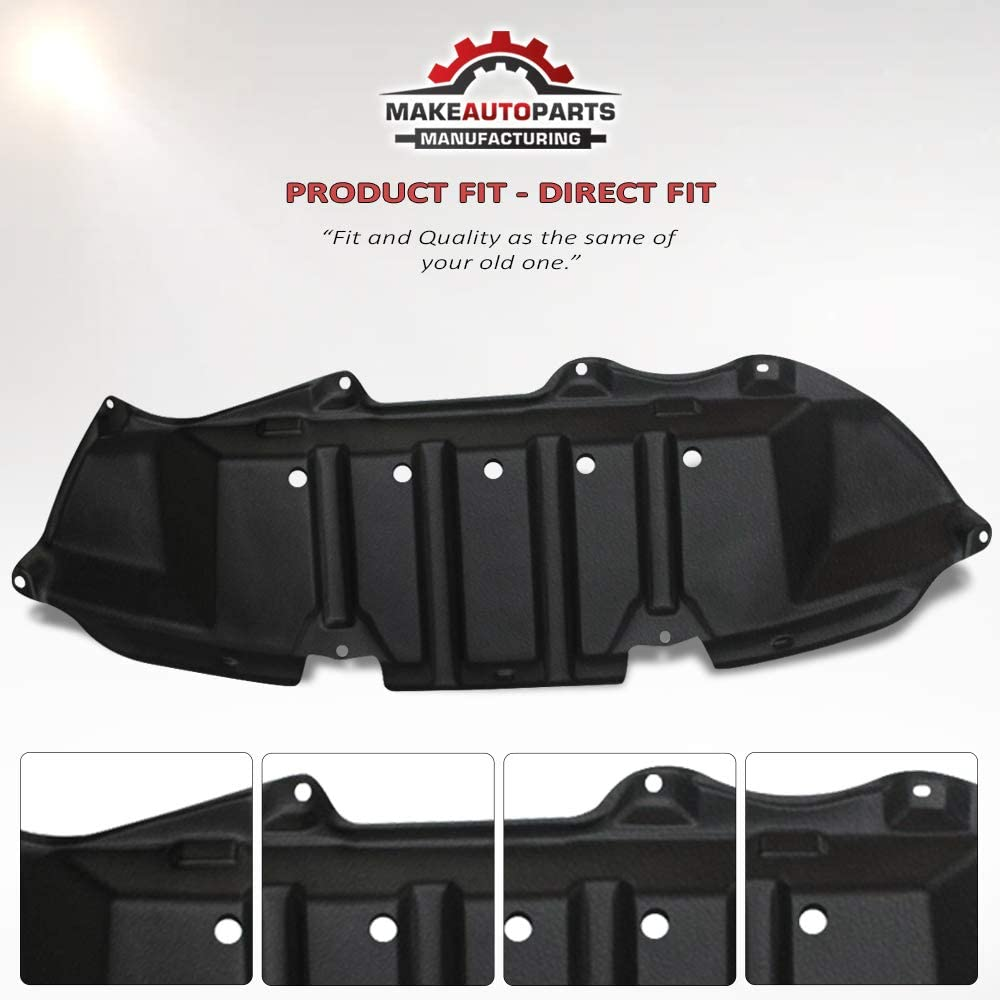 TO1228148 Make Auto Parts Manufacturing Front Engine Splash Shield Under Cover For Toyota Corolla 2009 2010 2011 2012 2013