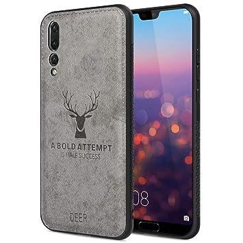 JiatuA Funda para Huawei P20 Pro 2018, Carcasa Movil Huawei P20 Pro 2018 Funda Blanda a Prueba de Golpes Funda de TPU Carcasa para Teléfono ...