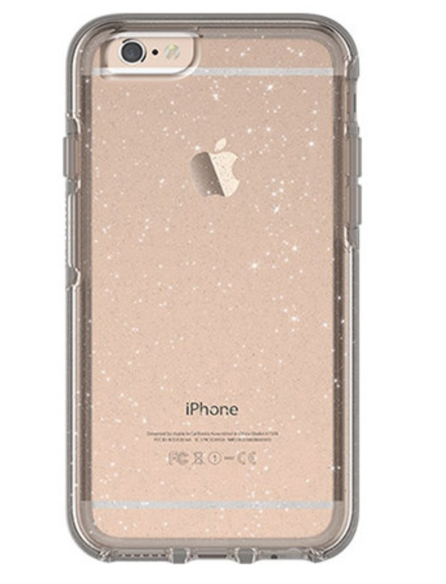 reputable site 2f339 41e8c OtterBox Symmetry Case for iPhone 6 and iPhone 6S Clear/Stardust