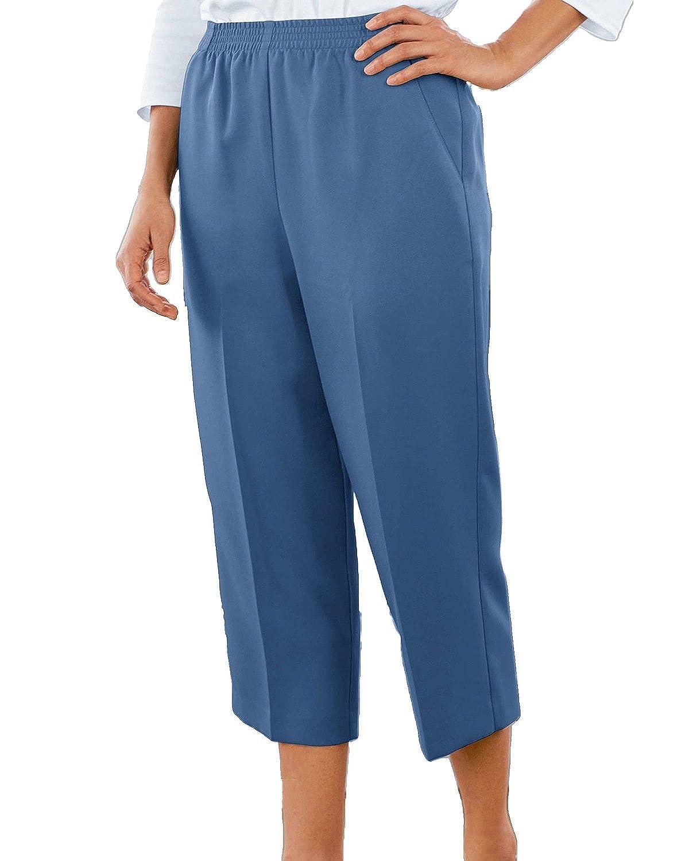 Donnkenny Comfort Waist Crop Pants