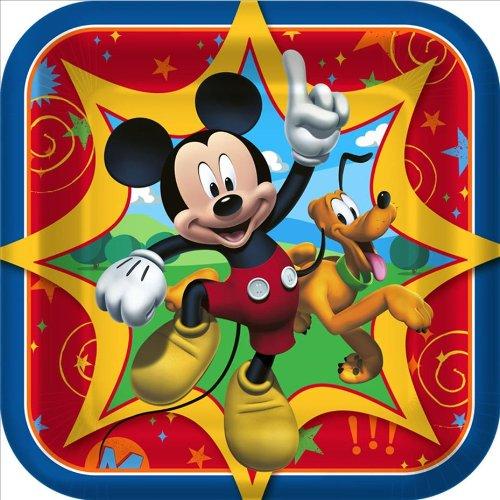 Hallmark Disney Mickey Fun and Friends Dessert Plates (8)