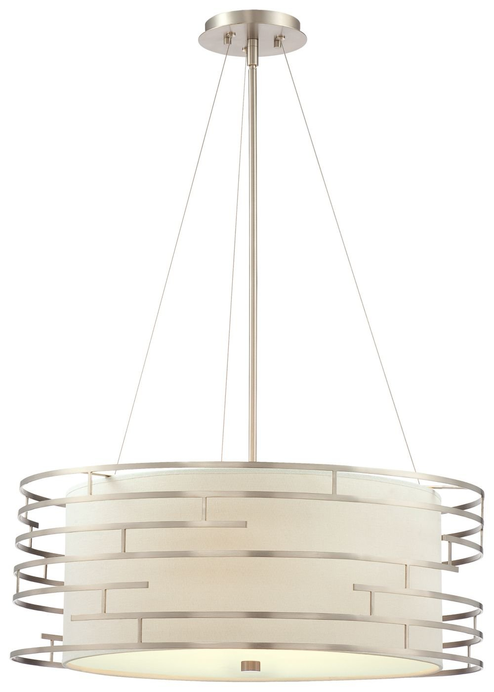 Philips forecast 190215836 labyrinth pendant satin nickel ceiling philips forecast 190215836 labyrinth pendant satin nickel ceiling pendant fixtures amazon aloadofball Images