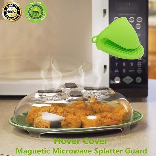 Hmjunboys - Tapa para placa de microondas con protección ...