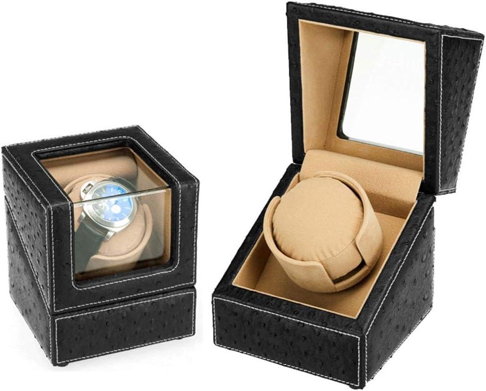 WCX Caja Giratoria para Relojes Automaticos PU Silencioso Cajas Giratorias para Relojes Relojes Organizadora Y Exhibición 5 Modos para 1 Reloj (Color : A): Amazon.es: Hogar