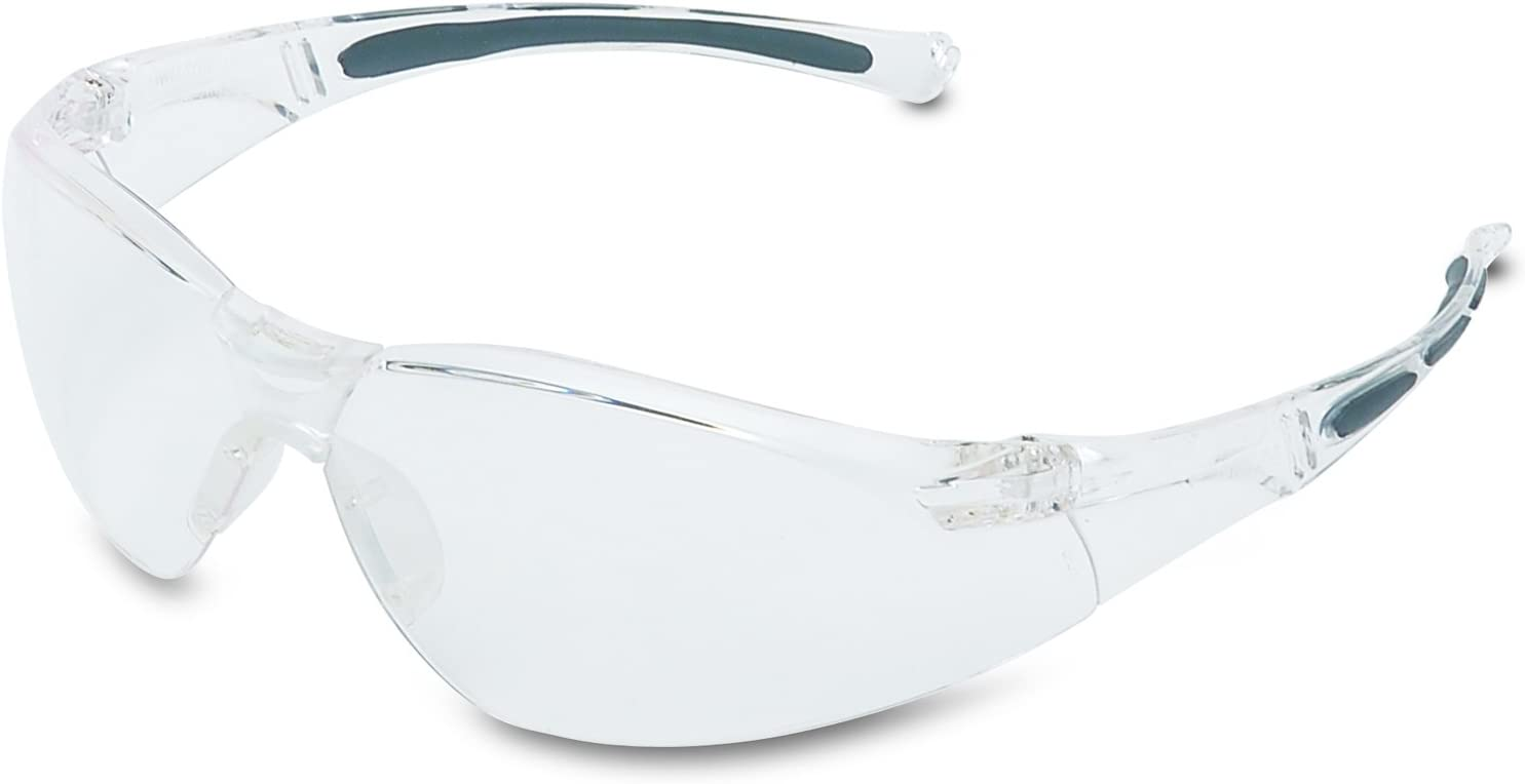 HONEYWELL UVEX A801 A800 Safety Glasses With Gray Frame And Gray