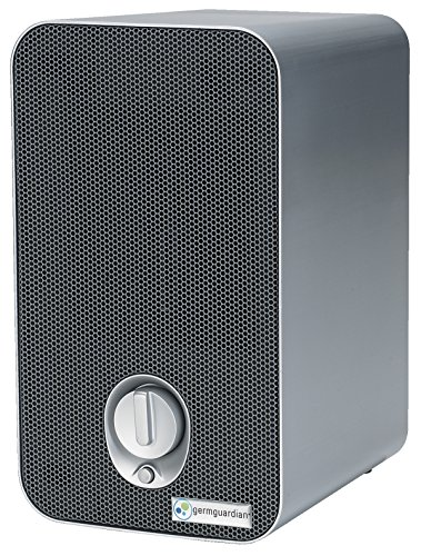 GermGuardian AC4100 3-in-1 Air Purifier with HEPA Filter, UV-C Sanitizer, Allergen and Odor Reduction, Germ Guardian Air Purifier Portable