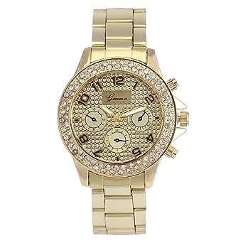 Amazon.com: COOKI Relojes de cuarzo para mujer, analógicos ...