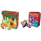 Gamewright Outfoxed! A Cooperative Whodunit Board Game for Kids 5+, Multi-Colored, Standard, Model Number: 418 & ueens…