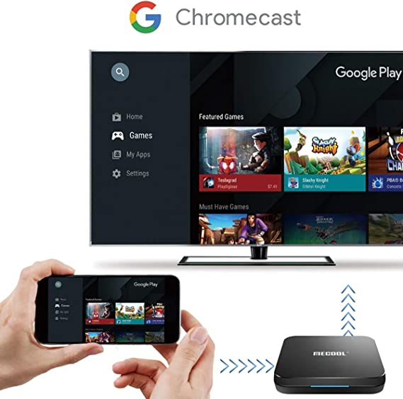 Caja Android TV MECOOL KM9PRO Classic | Certificación Google | 4K | Wi-Fi | Google Assitant | Chromecast Integrado | 2GB RAM 16GB ROM | HDMI | RJ45: Amazon.es: Electrónica
