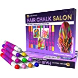 Desire Deluxe Hair Chalk for Girls Makeup Kit of 10 Temporary Colour Pens Gifts, Great Toy for Kids Age 5 6 7 8 9 10 11 12 13