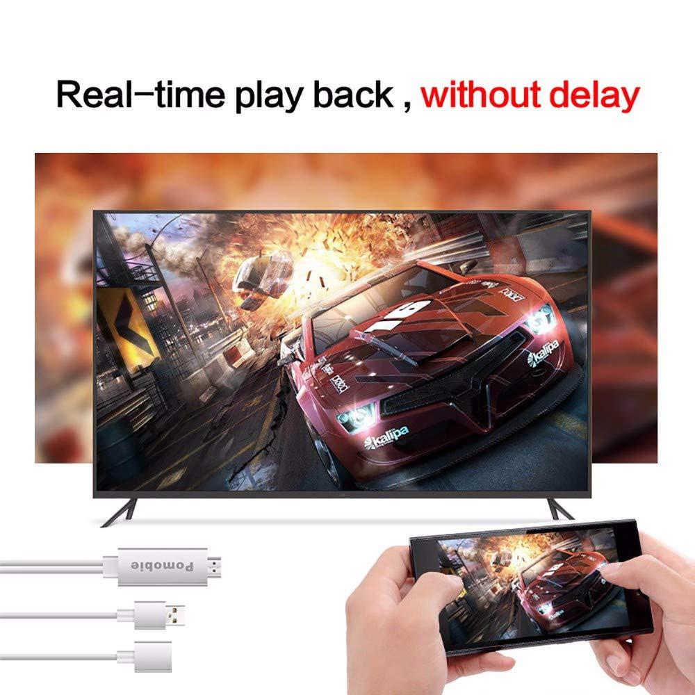 Plug and Play Lightning Digital AV to HDMI Celendi Pomobie Lightning to HDMI Adapter