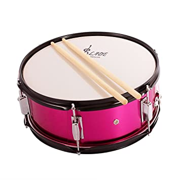 62bb09cb43cf ammoon Professional Snare Drum Head 14 Inch with Drumstick Drum Key Strap  for Student Band