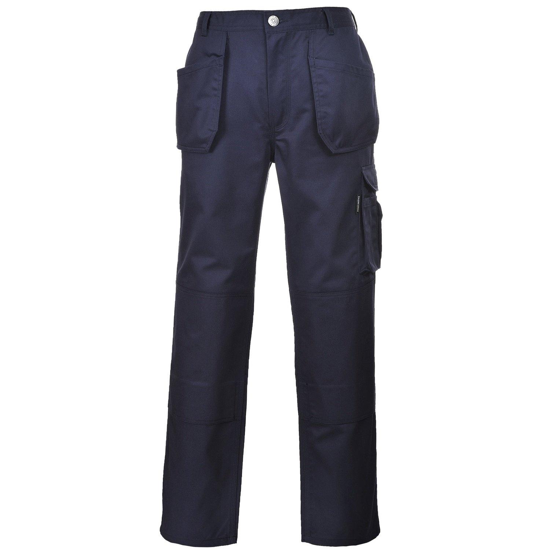 Portwest Slate Pantaloni da Lavoro Uomo: Amazon.it