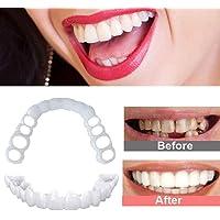 ZNXY 4 Pares Dentadura Superiores E Inferiores Cosméticos