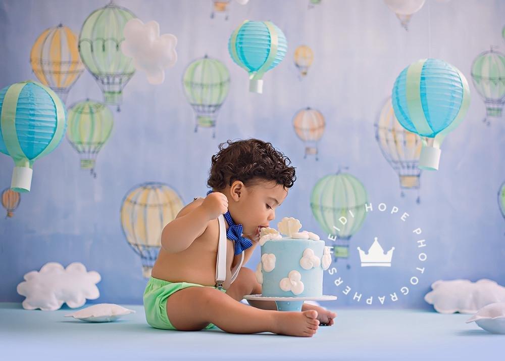 写真バックドロップ|ホットAir Balloons by Heidi Hope   B07BBY2Z1J