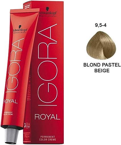 Schwarzkopf 0000001078 Igora Royal Tinte Permanente, Tono 9.5-4, 60 ml