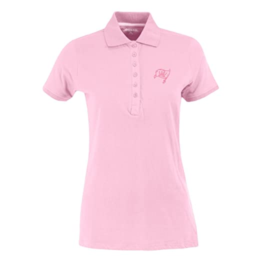 ca47585e Amazon.com : NFL Women's Tampa Bay Buccaneers Spark Short Sleeve Polo :  Sports Fan Polo Shirts : Clothing