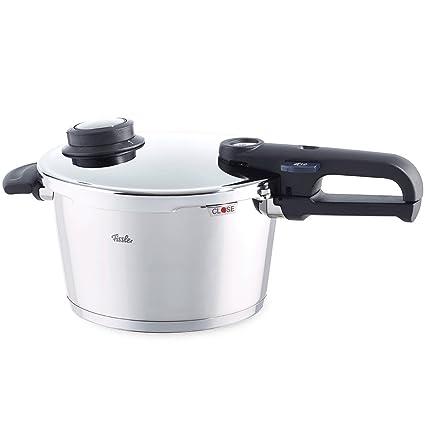 Fissler Vitavit Premium Olla a presión, 22 cm, para Todo Tipo de cocinas, 6 litros, Acero Inoxidable