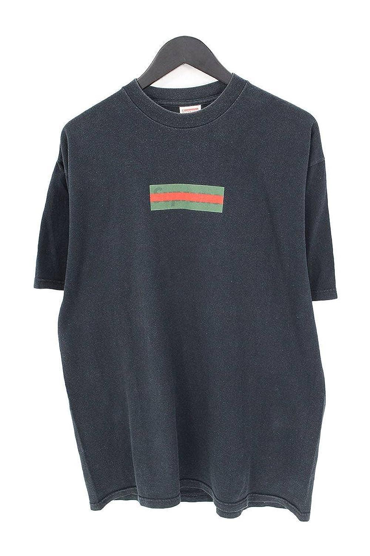 (シュプリーム) SUPREME 【00SS】【Box Logo Tee】グッチカラーボックスロゴTシャツ(L/ブラック) 中古 B07FFTDS7K  -