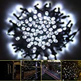 Innoo Tech White Solar String Lights Outdoor String Lights Solar Powered for Garden,patio,party,christmas Fairy Ambiance Light