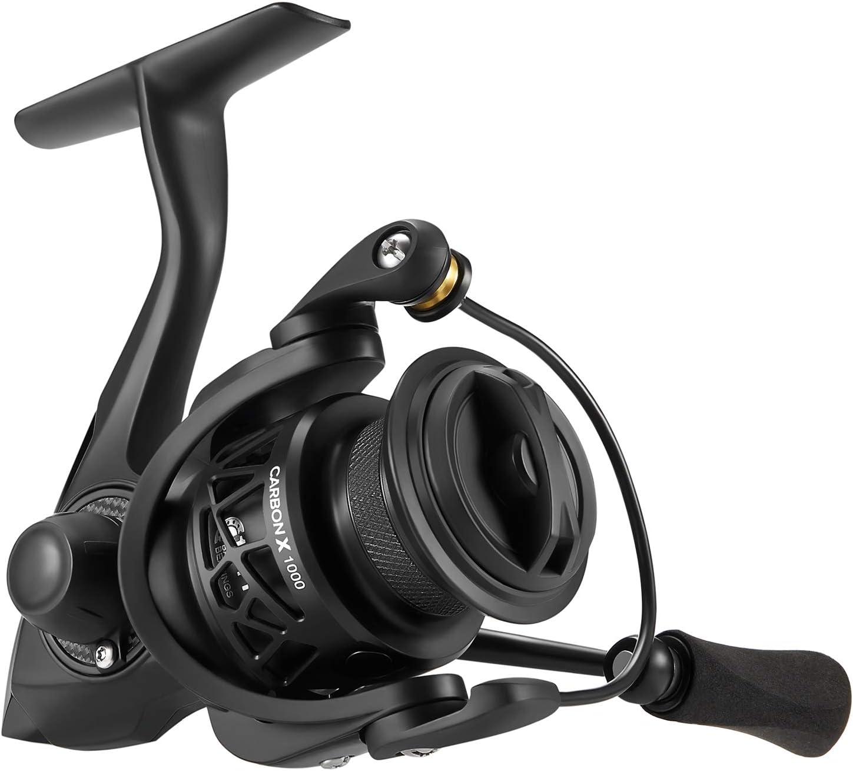 Carrete de pesca Piscifun Carbon X Spinning - ligero a 7.8 oz, 6.2 ...