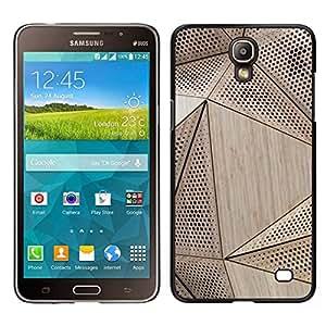 // PHONE CASE GIFT // Duro Estuche protector PC Cáscara Plástico Carcasa Funda Hard Protective Case for Samsung Galaxy Mega 2 / Wood Architecture Pattern Engineering /
