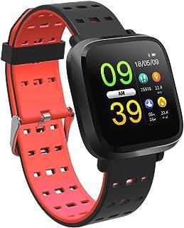 Fitness Tracker, Heart Rate Blood Pressure Blood Oxygen Sleep Monitor, Multi-Sport Mode Activity Tracker Pedometer IP67 Waterproof for Women Men Kids