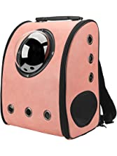 Texsens Innovative Traveler Bubble Backpack Pet Carriers for Cats and Dogs