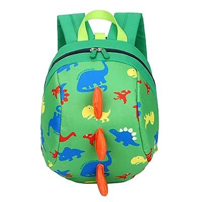 Longxing Lovely Kindergarten bag Little dinosaurs Cartoon Oxford cloth Child backpack