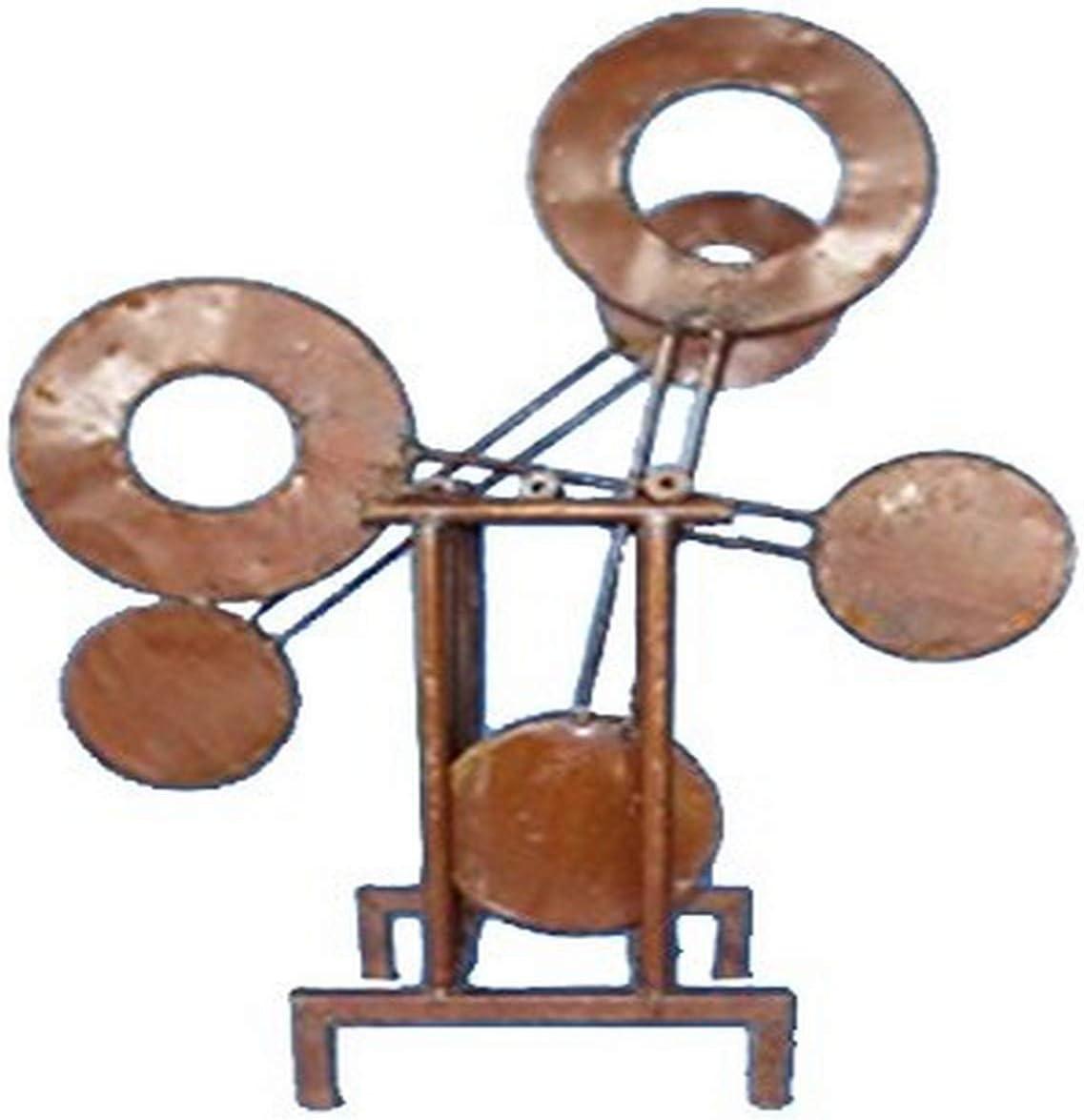 Rustic Arrow Pendulum Garden Art