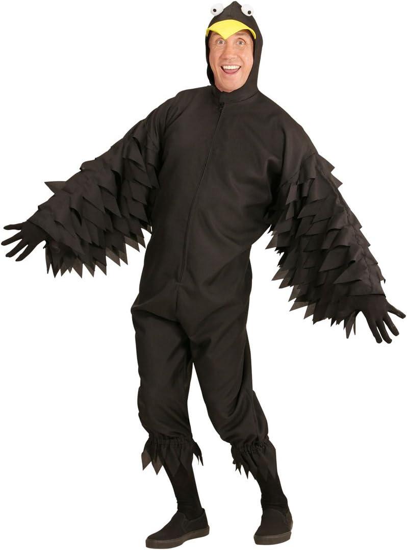 NET TOYS Mono para Hombres de Cuervo - S (ES 48) | Disfraz Pájaro ...