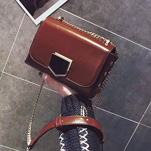 A petit mode bandoulière côté fermeture chaîne et oblique sac unique sac sac à à sac femme Petit Aoligei qSTFW