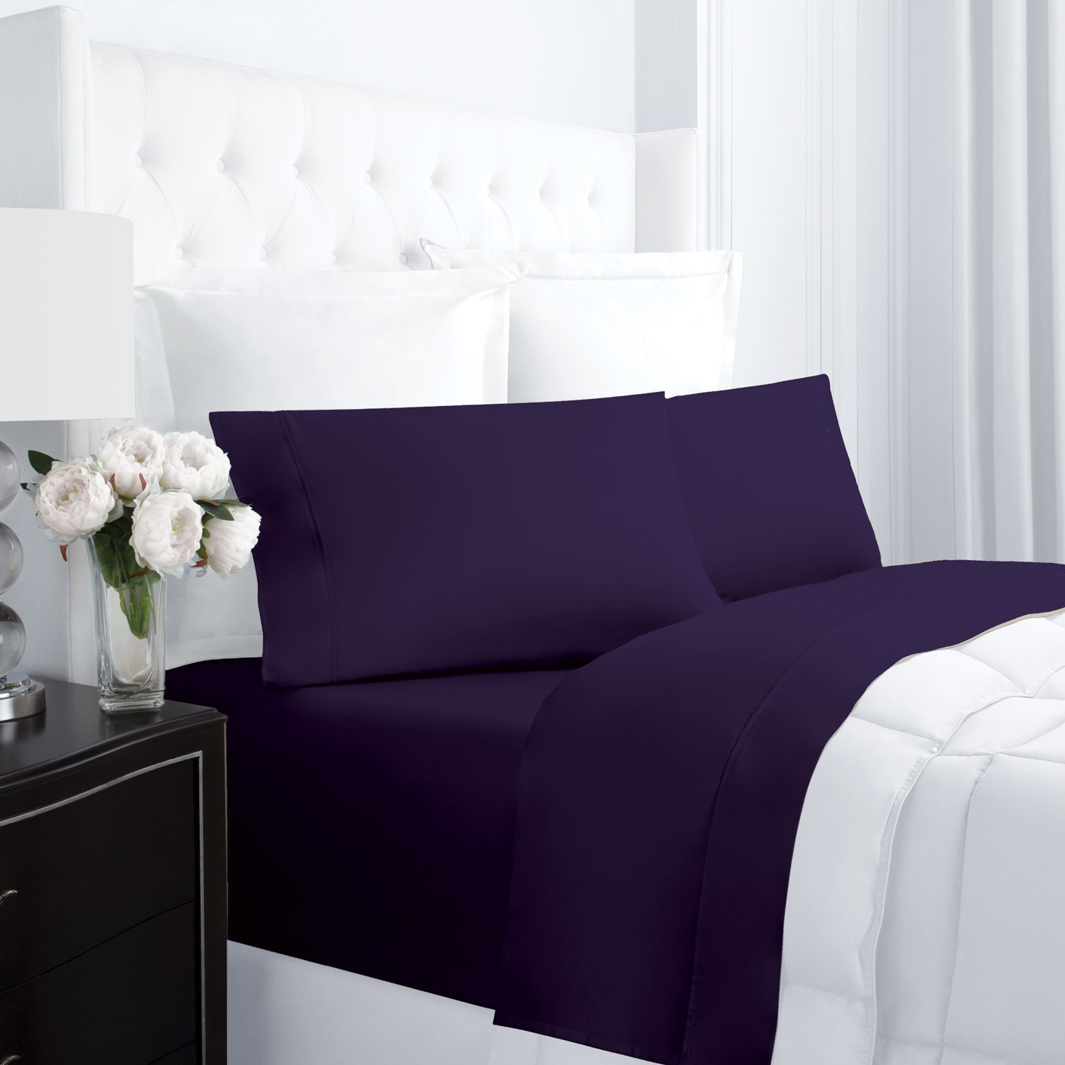 Egyptian luxury hotel collection 300 thread count cotton for Luxury hotel 750 collection sheets