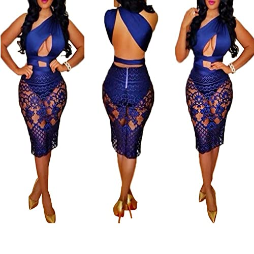 NEW Club sexy summer lace dress Pencil skirt Explosion models