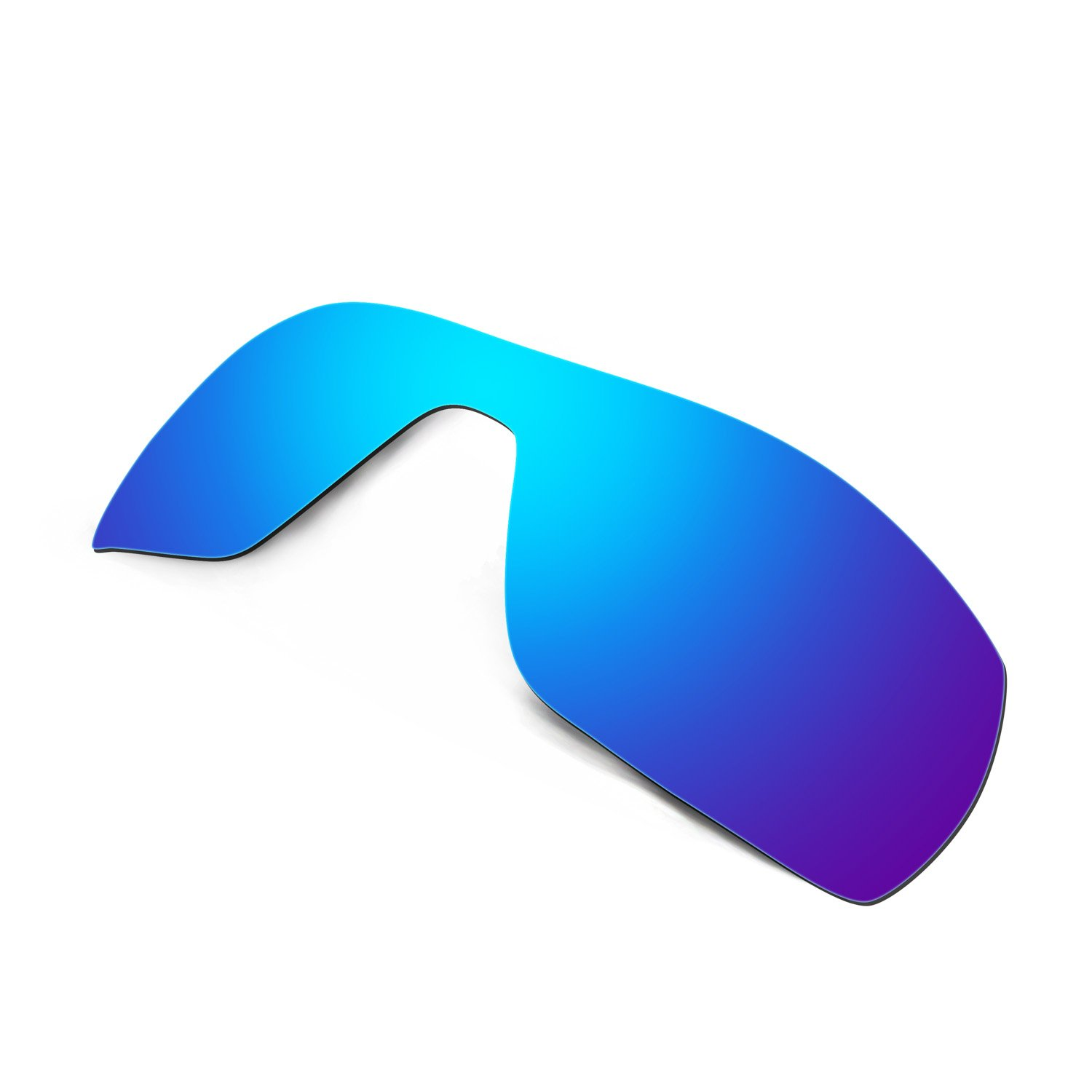 HKUCO Mens Replacement Lenses For Oakley Offshoot Blue/Black/24K Gold Sunglasses J4ssUq0C