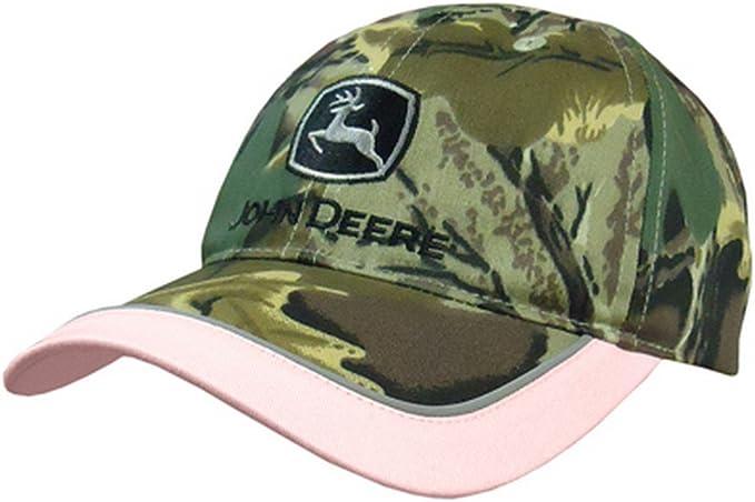 John Deere gorra rosa de camuflaje para mujer: Amazon.es: Ropa y ...