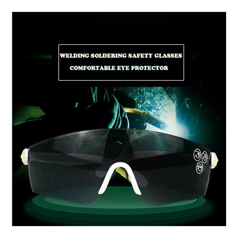YUANYUAN521 Welding Safety Goggles for Welding Flaming Cutting Brazing Soldering Eye Protector Work Safety Glasses by YUANYUAN521