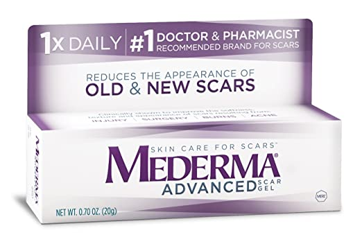 Amazon Com Mederma Advanced Scar Gel Prime Pantry