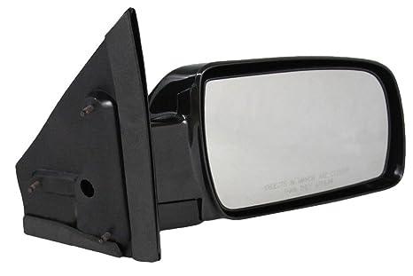 Manual Side View Mirror Black Passenger Right RH for 88-05 Chevy Astro Safari